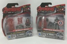 "Marvel Avengers Age of Ultron Scarlet Witch & Captain America 2.5"" Figures- 2 Pk"