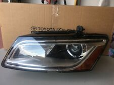 2013 2014 AUDI Q5 DRIVER XENON W/LED DRL HEADLIGHT OEM 64