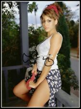 Eva Mendes, Autographed, Cotton Canvas Image. Limited Edition (EM-22)