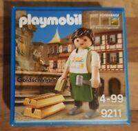 Playmobil 9211 Sonderfigur Goldschläger Stadt Schwabach Neu OVP !