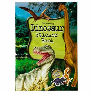Dinosaur Sticker Book - Children's activity book for kids aged 3+