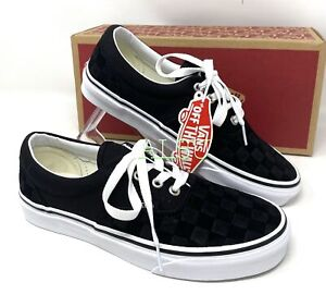 VANS Era Deboss Checker Black Men's  Sneakers VN0A4U39WYU