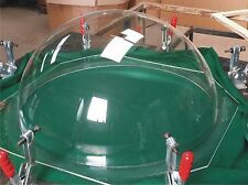 Acrylic Perspex Dome 100mm dia.