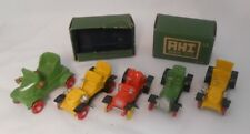 Vintage AHI Toys Japan Metal Old Time Car Lot With 2 Partial Boxes (L300)