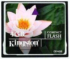 CompactFlash Memory Card Perfect for Digital Cameras PDAs and MP3 Players - 4 GB