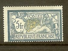 "FRANCE STAMP TIMBRE N°123a "" TYPE MERSON 5F BLEU ET OLIVE "" NEUF xx TB"