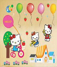 Wandaufkleber Wandtattoo Wandsticker Hello Kitty Kind Kinderzimmer WAK-027