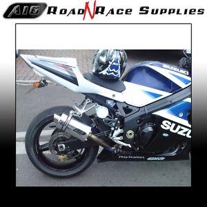 Suzuki GSXR 1000 2000-2004 K1 K2 K3 K4 A16 Stubby Stainless Exhaust (SC)