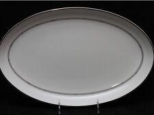 ROYAL DOULTON SILVER SONNET Fine Bone China Large Platter