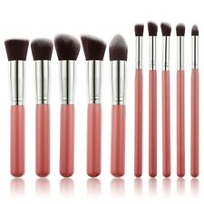 Pink Pro 10pcs Soft Cosmetic Makeup Make Up Brushes Set Kit Eyeshadow Brush