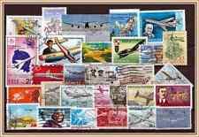 (B-18) Briefmarken aus aller Welt Thema Luftfahrt-Flugzeuge