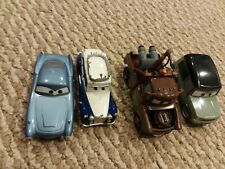 Cars 2 Die-Cast 1:43 Scale Finn McMissile, Queen, Mator, And Miles Axlerod