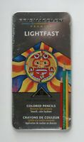 Prismacolor Premier LightFast Set of 12 Colored Pencils In Tin Case NEW & SEALED