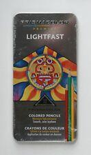 Prismacolor Premier LightFast Set of 12 Colored Pencils In Tin Case NEW & SEALED