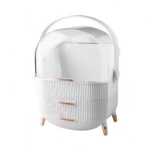 Cosmetic Storage Box Portable Lipstick Skin Care Product Desktop Organizer Rack