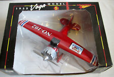 1932 Lockheed Vega Model 5 Plane Bank Die Cast Toy Farmer NO-102 Collector NIB