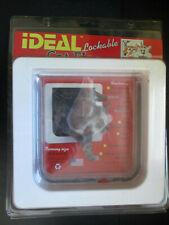 IDEAL 4-Way Lockable Weatherproof Cat Flap.Easy Installation 6.25 X 6.25 Opening