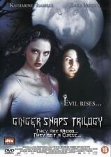 GINGER SNAPS TRILOGY  Set Part 1+2+3  John Fawcett  ALL REGION 3 DVD BOX SEALED