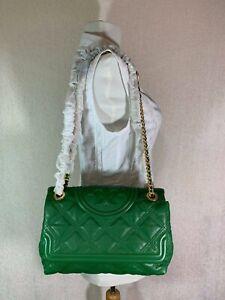 NWT Tory Burch Arugula Soft Fleming Convertible Shoulder Bag $528