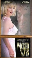 Wicked Ways (Vhs) Michael Rooker (Dark Half) Rebecca Demornay (Risky Business)