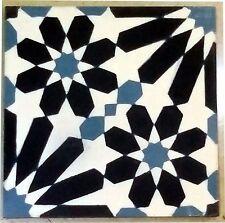 Moroccan floor and wall tiles handmade in Marrakech