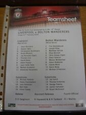 27/02/2009 Liverpool Youth v Bolton Wanderers Youth [FA Youth Cup] (Colour Singl