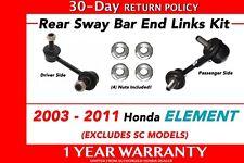 Genuine OEM Honda Element Rear Sway Bar End Link Kit 2003 - 2011 Links Set
