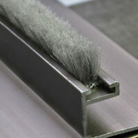 Draught Excluder Brush Window Pile Seal Strip Cabinet Door Bottom Weatherstrip