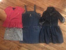 True Religion Jean skirt, Ralph Lauren Denim Dresses A lot of 5 girls Size 6