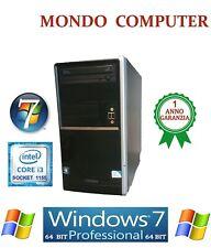 COMPUTER ASSEMBLATO OLIDATA / CPU INTEL i3 2100 /SOCKET 1155/ WINDOWS 7 PRO