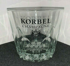 KORBEL CHAMPAGNE HEAVY CRYSTAL GLASS ICE BUCKET