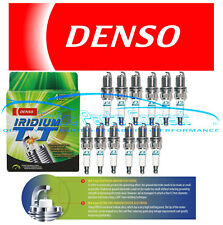 12 DENSO IRIDIUM TT SPARK PLUGS TWIN TIP FOR V12 MERCEDES BENZ 600SEL S600 SL600
