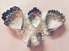 Peony Flower Set Cutters Stainless cake cupcake cookie cutter fondant baking