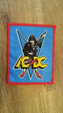AC DC AC/DC Angus Guitar RARE rock group artist Sew On patch music