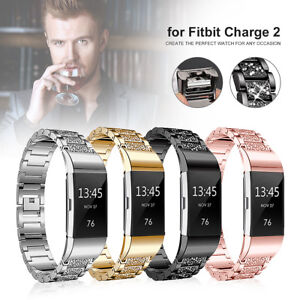 Jewelry Stainless Steel Wrist Band Replacement Watch Strap For Fitbit Charge  ❥