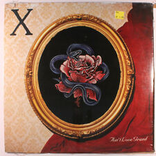 X - Ain't Love Grand - Exene Cerenka John Doe - 1985 Vinyl Record LP NEW