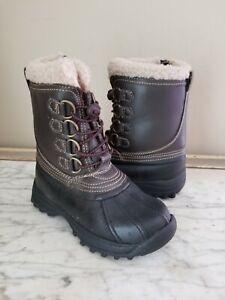 Bass Cole  Boys Duck Boots Snow Rain Mud Kids Size 13