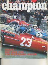 CHAMPION n°31 07/68 NSU 1000 TTS KAWASAKI A1R 250 RACER GP BELGIQUE HOLLANDE