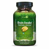 Irwin Naturals Brain Awake, 60 ct