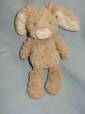 "Mary Meyer Brown Tan Plush Bunny 8"""