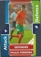 TOPPS MATCH ATTAX WORLD CUP 2006- #142-PORTUGAL-PAULO FERREIRA