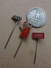 3x old lapel pins         LEGO    (3x26)                   <D>
