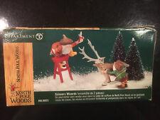 Dept 56 - Scissors Wizard - North Pole Woods Series - 56923 Nib