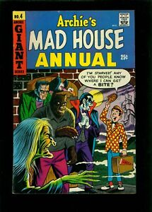 Archie's Madhouse Annual 4 FN 6.0