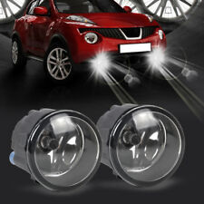 2x Driving Fog Lamp Foglight H11 55W Bulbs k For Nissan Cube Juke Murano Rogue