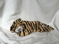 Ty Beanie Baby Stripes (black & tan) the Tiger #4065, Fr 1996, Retired