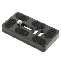 "QR Quick Release Plate 70mm for Tripod Ball Head Arca Swiss w/ 1/4"" Screw"