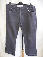 "Mens Jeans EASY grey, waist 38"" inside leg 30"", five pockets, worn, marked 0566"
