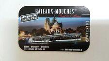 LOT DE 2 BILLETS ADULTES BATEAUX MOUCHES PARIS - 1H CROISIERE SUR LA SEINE