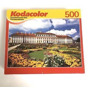 New Kodacolor 500 pc Puzzle Schleissheim Castle Munich 19 x 13 Sealed Complete